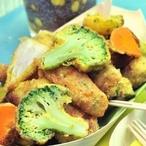 Zeleninové kousky v trojobalu