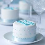 Sněhobílé dortíky