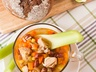 Hustá luštěninová polévka
