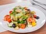 Řeřichový salát s lososem