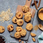 Zdravé ovesné sušenky