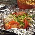 Pečené filé s rajčaty