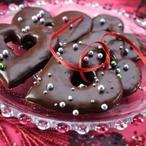 Srdíčka máčená v čokoládě