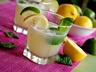 Italský limetkovo-citrónový koktejl s proseccem