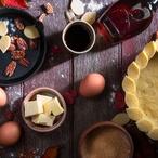 Engadinský ořechový koláč