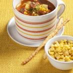 Bramborová polévka s kukuřicí