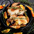 Kuřata na pomerančích a koriandru I