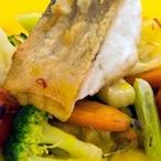 Filet z candáta se sezonní zeleninou