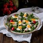 Salát plný jara