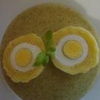Bramborové knedlíky s vejcem