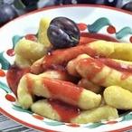Tvarohovo-bramborové šišky s klevelou