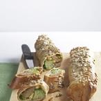 Závin s brokolicí a kuřecím masem