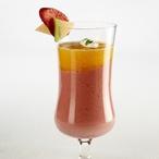 Jahodový koktejl s melounem