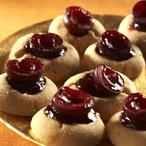 Linecké višňové koláčky
