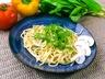 Žampionové špagety