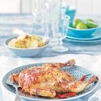 Portugalské kuře peri peri
