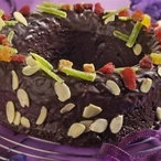 Čokoládový věnec