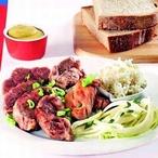 Vařené vepřové maso