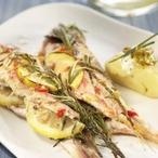 Pečená ryba scitronem a bylinkami