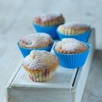 Citronovo-malinové muffiny