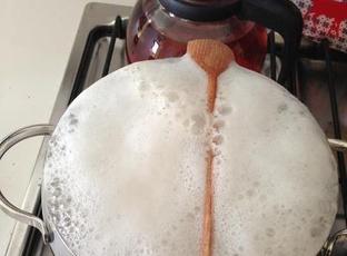Mléko - při vaření nepřeteče