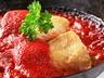Treska s rajčatovou omáčkou a bylinkovým kuskusem