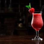 Jahodový koktejl