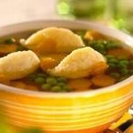 Zeleninová polévka s nočky