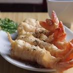 Krevetová tempura spivem