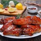 Ostré česnekové kuře