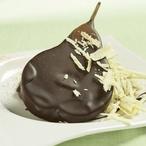 Vinné hrušky v čokoládě