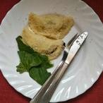 Špenátové taštičky z bramborového těsta