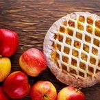 Francouzská jablečný koláč